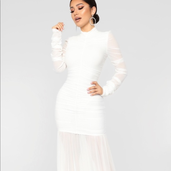 f85c1e269233e Fashion Nova Dresses | Cardi B Party Ruched Dress | Poshmark